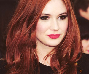 karen gillan, hair, and red hair image