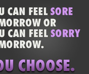 choose, fitness, and motivation image