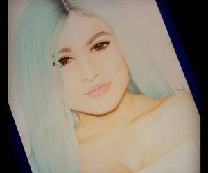art, blue hair, and realism image