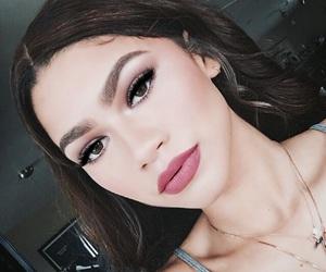 zendaya, makeup, and hair image