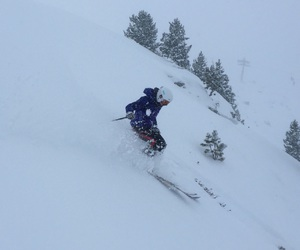 passion, Skiing, and freeskiing image