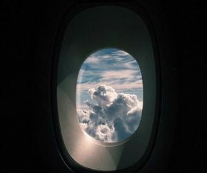 airplane, tumblr, and grunge image