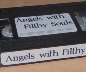 aesthetic, angels, and tape image