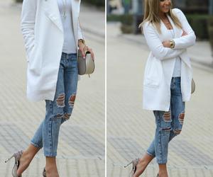 blogger, fashion, and coat image