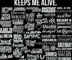 band, music, and sleeping with sirens image