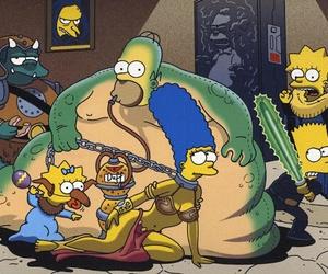 star wars and les simpson image