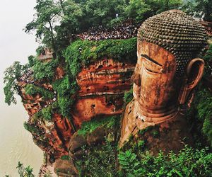 Buddha and nature image