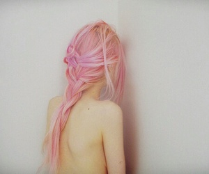 girl, pink, and instagram image