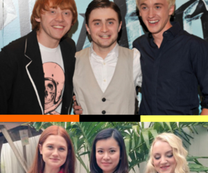black, redhead, and rupert grint image