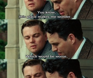 shutter island, movie, and quotes image