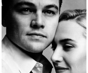 leonardo dicaprio, kate winslet, and couple image