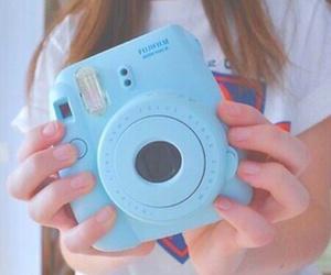 blue, tumblr, and camera image