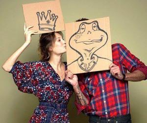 love, princess, and frog image