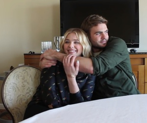 cassie, alex roe, and evan image