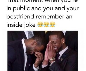 funny, best friends, and joke image