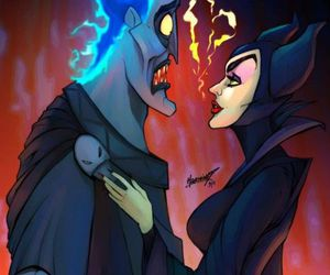 disney, hades, and love image