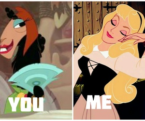 disney, quotes, and me vs you image