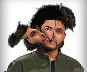 king, michael jackson, and the weeknd image