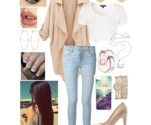 beauty, outfit, and chic image