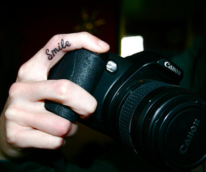 canon, photography, and tattoo image