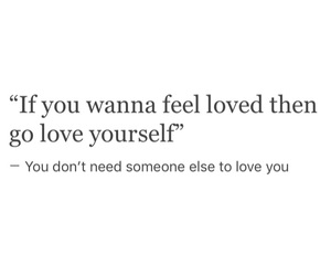 quotes, self love, and tumblr image