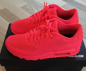 fashion, nike, and red image