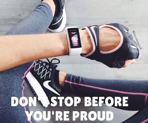 fitness, goals, and proud image