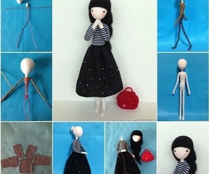 diy, doll, and tutorial image