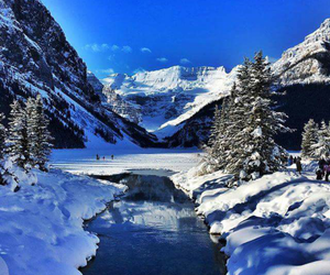 canada, snow, and winter image