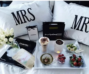 chanel, mac, and breakfast image
