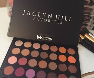 makeup, eyeshadow, and jaclyn hill image