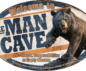 collectible, mancave, and tinsign image