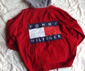 fashion, red, and tommy hilfiger image