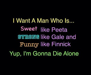 hunger games, gale, and peeta image