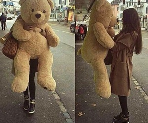 love, bear, and teddy image