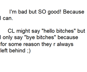 CL, confident, and fact image