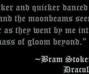 bram stoker, Dracula, and love image