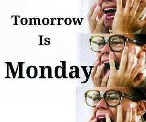 monday, tomorrow, and Harry Styles image