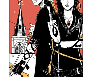 alec lightwood, the mortal instruments, and isabelle lightwood image