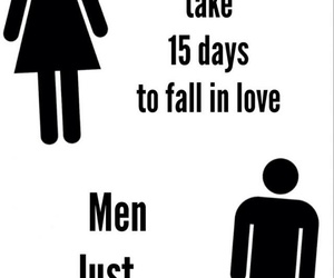 love, men, and women image