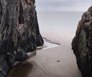 beach, theme, and sea image