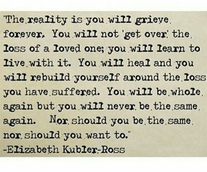quote, grief, and loss image