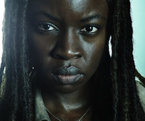 twd, the walking dead, and michonne image