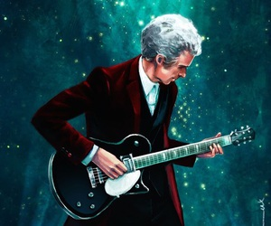 doctor who, guitar, and doctor image