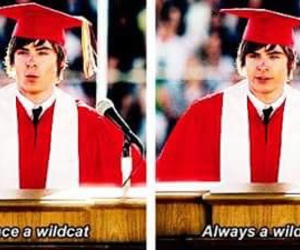 zac efron, wildcats, and HSM image