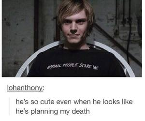ahs, tate, and american horror story image