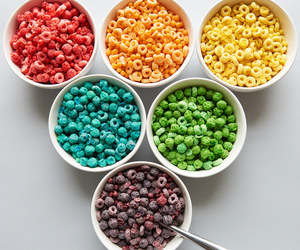 cereal, food, and colors image