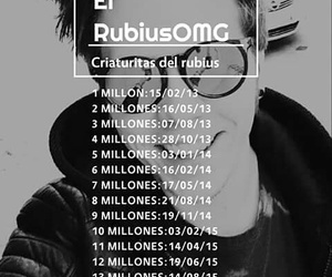 rubius, rubén, and 16 millones image