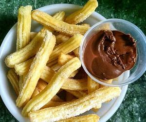 chocolate, churros, and comida image