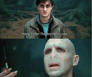 harry potter, voldemort, and movie image